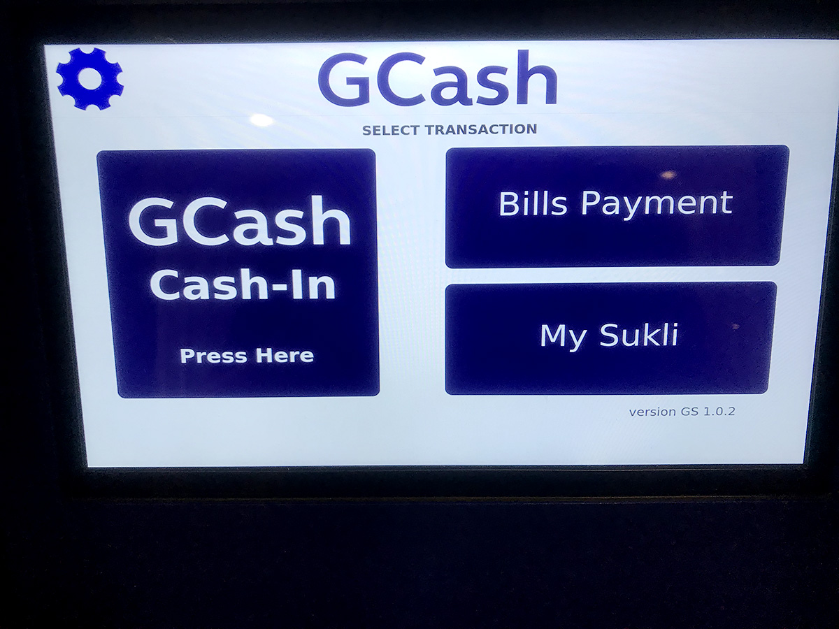 GCashのCash-In