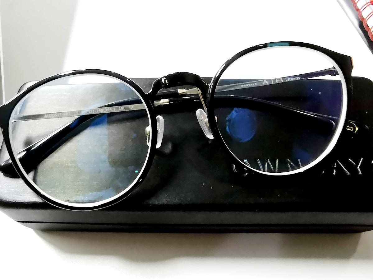 セブ島・オンデーズで作ったメガネ