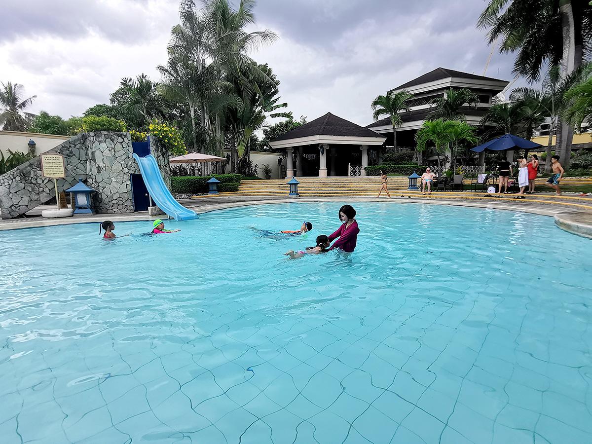 ウォーターフロントホテルの子供用プール