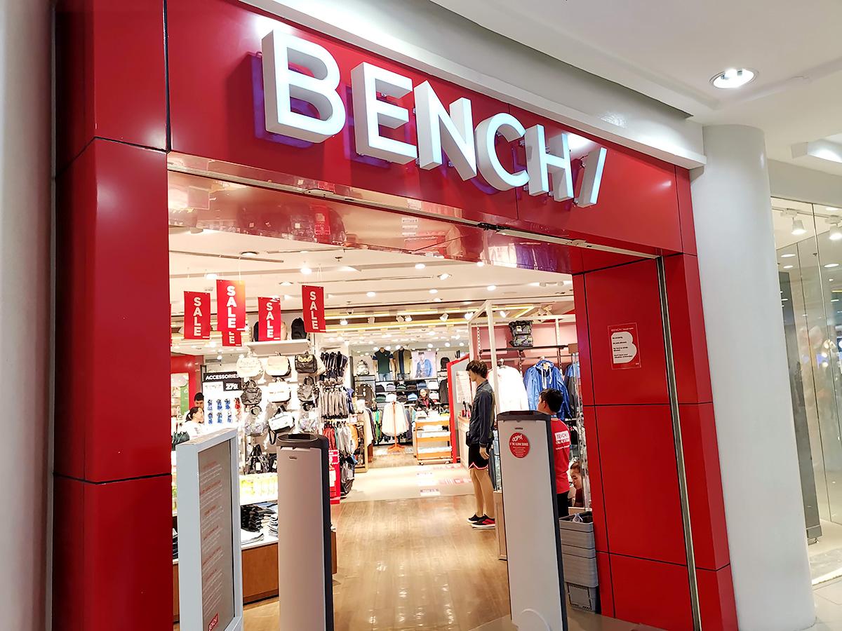 フィリピンのファッションブランドBENCH