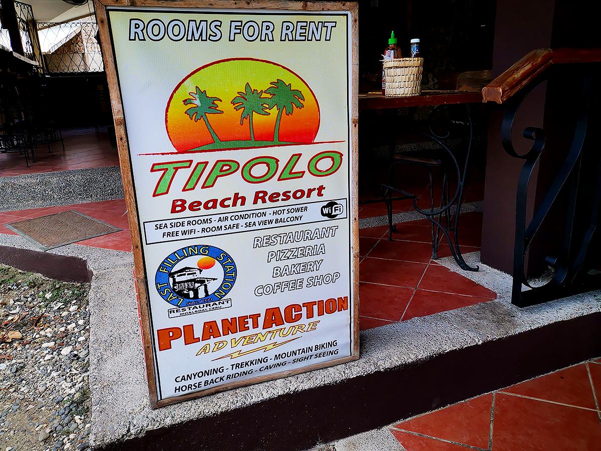 パナグサマビーチ ・レストラン
