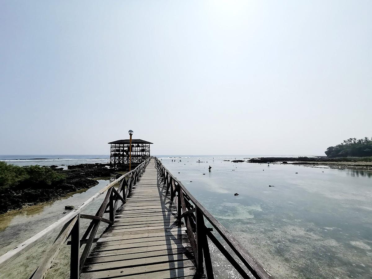 クラウドナインの桟橋